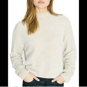 Sanctuary Women's Chenille Mock Neck Sweater